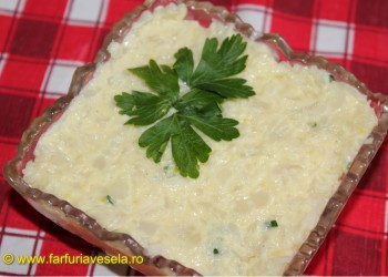Salata de conopida cu maioneza de casa