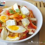 RetetaVideo.ro: Salata de Dovlecei si Rosii
