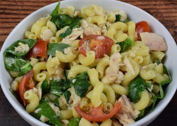 Salata de paste cu legume si ton