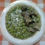 Mazare verde cu piept de pui