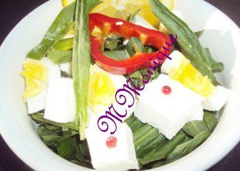Salata de macris si branza feta