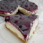 Cheesecake cu jeleu de struguri