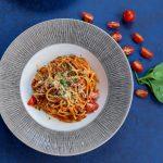 Spaghete cu pui