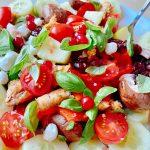Salata cu sunca si legume