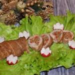 Rulada de porc cu nuci