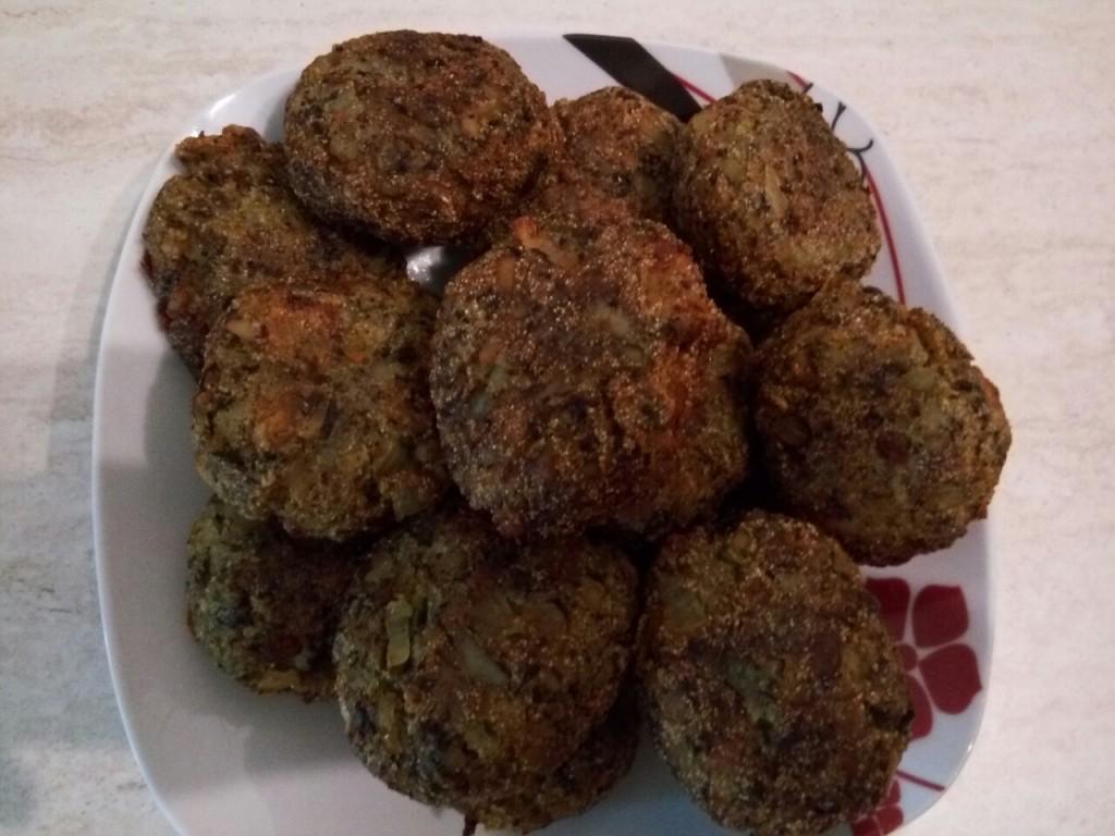 Chiftele de ghebe (de post)
