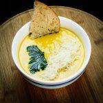 Supa crema cu legume si pui