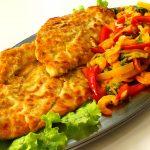 Retete pentru copii: File de cod crocant la cuptor cu legume