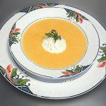 Supa crema de ciuperci cu morcovi