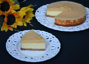 Cheesecake cu jeleu de gutui