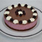 Cheesecake cu mure si ciocolata