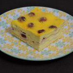 Lasagna dulce, cu brânză și vișine