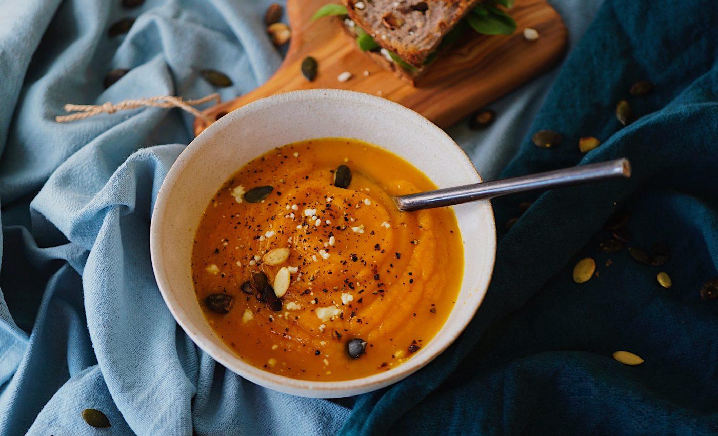 Supa crema de linte galbena