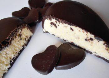Inima de ciocolata cu crema de cocos - caietul cu retete - P2140096