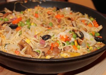 Paste cu creveti si gorgonzola