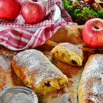 Strudel cu mere