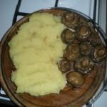 Piure si ciuperci sote