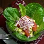 Salata de pui cu grapefruit roz