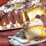 Tort cu sarlota si ciocolata