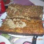 Retete de Pasti: Drob de maruntaie cu carnita de pui
