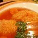 Supa de rosii cu galusti