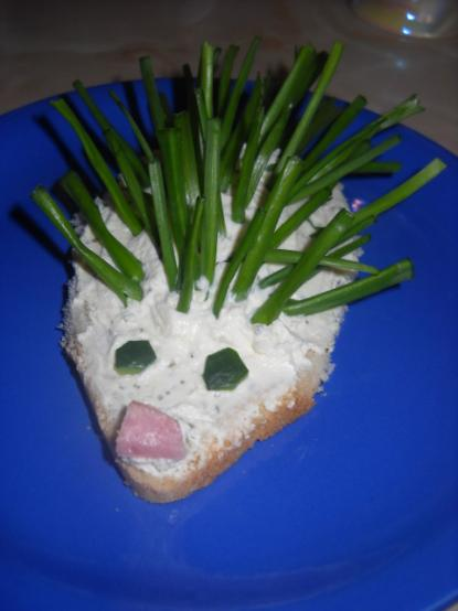Sandwich cu crema de branza