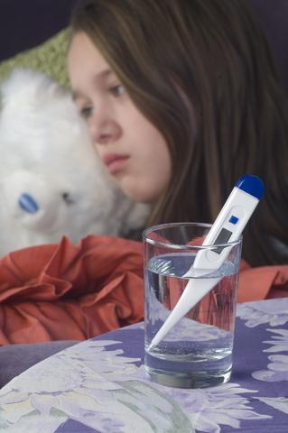 febra si varsaturi copii