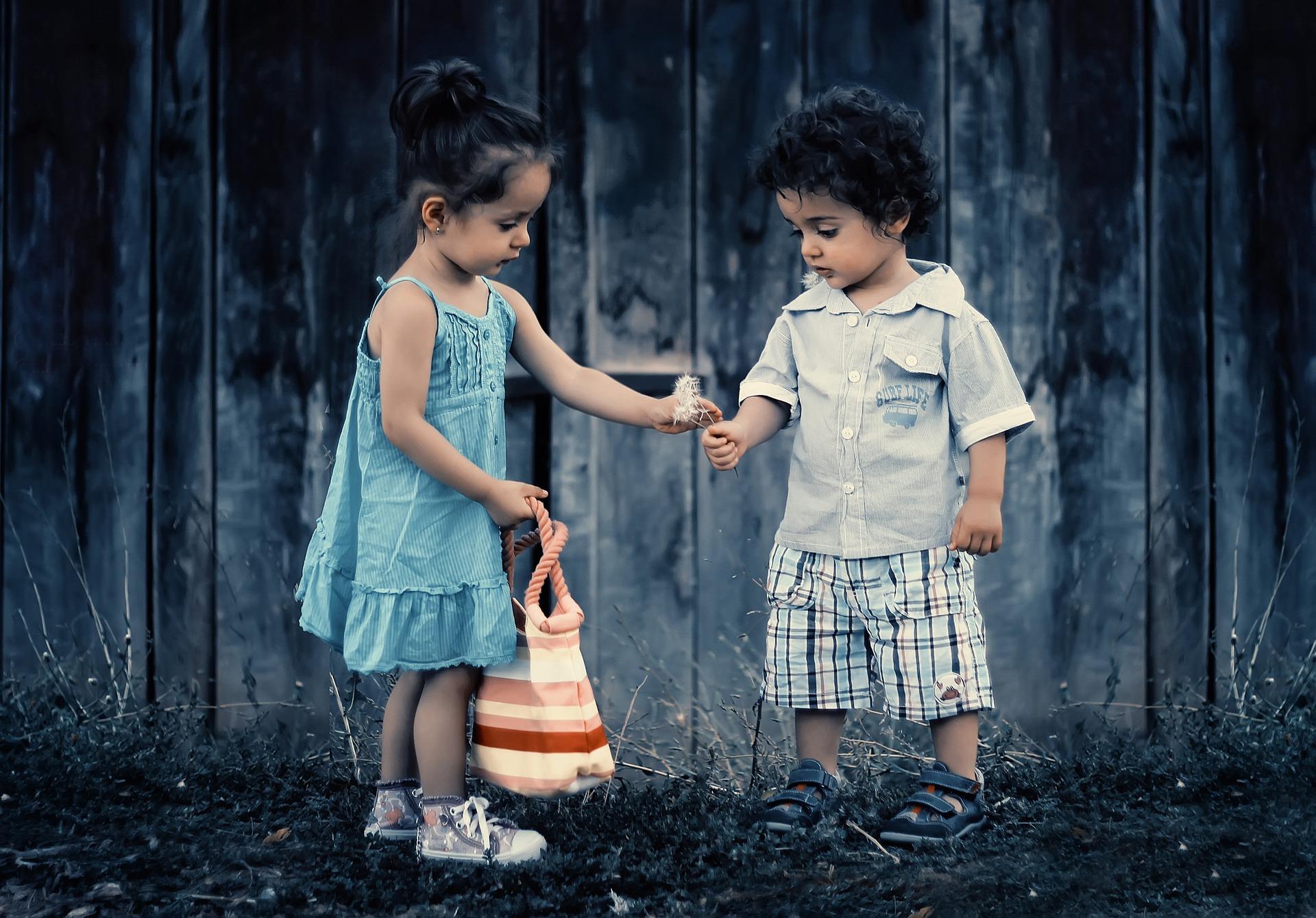 Cum inveti copilul sa fie generos