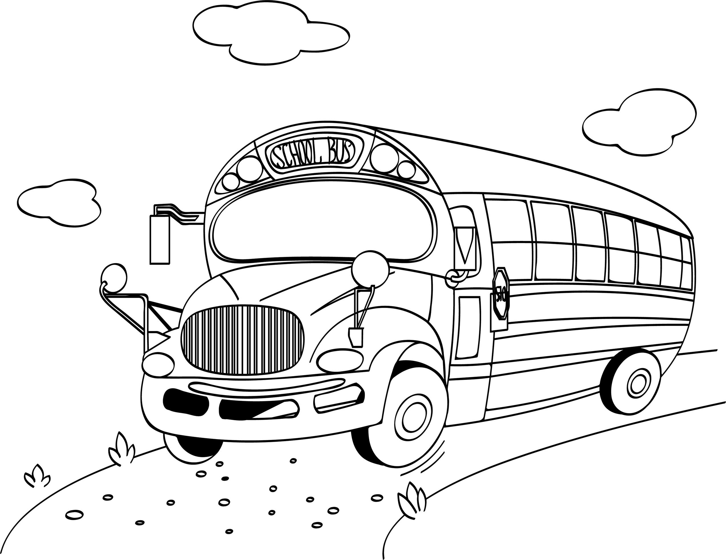 Sfatulparintilor.ro_plansa colorat: Autobuzul scolii