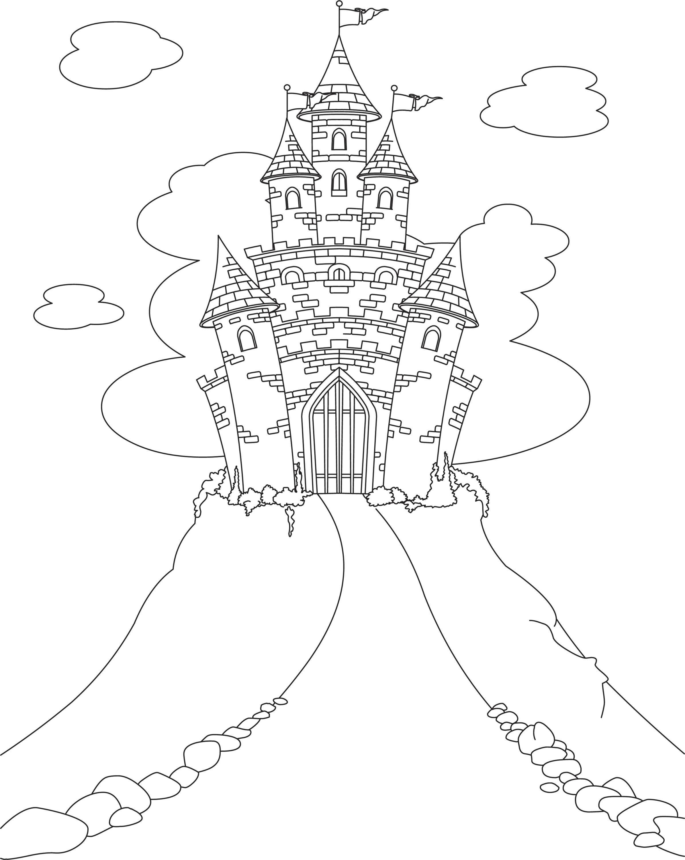 Sfatulparintilorro Planse De Colorat Pentru Copii Castelul