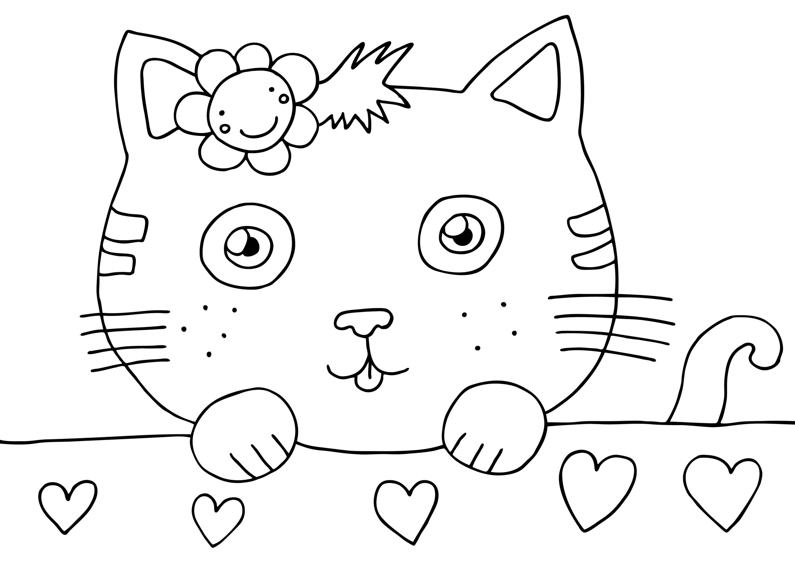 De Colorat  Pisicuta Hello Kitty    Sfatulparintilor Ro Desene De