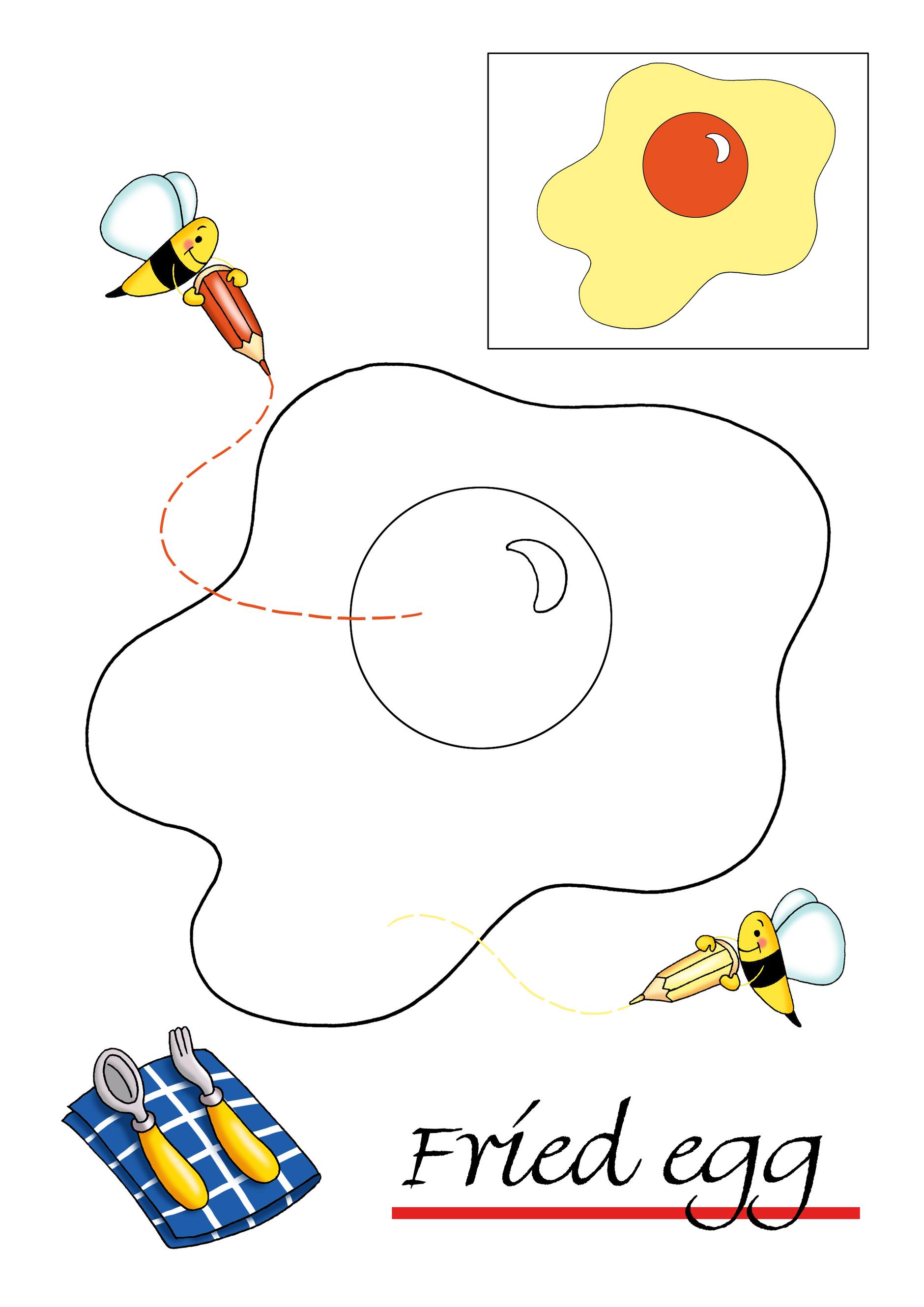 Sfatulparintilor.ro, planse de colorat, ou prajit
