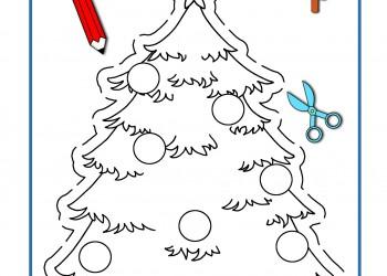 sfatulparintilor.ro, desene de colorat, bradutul de craciun