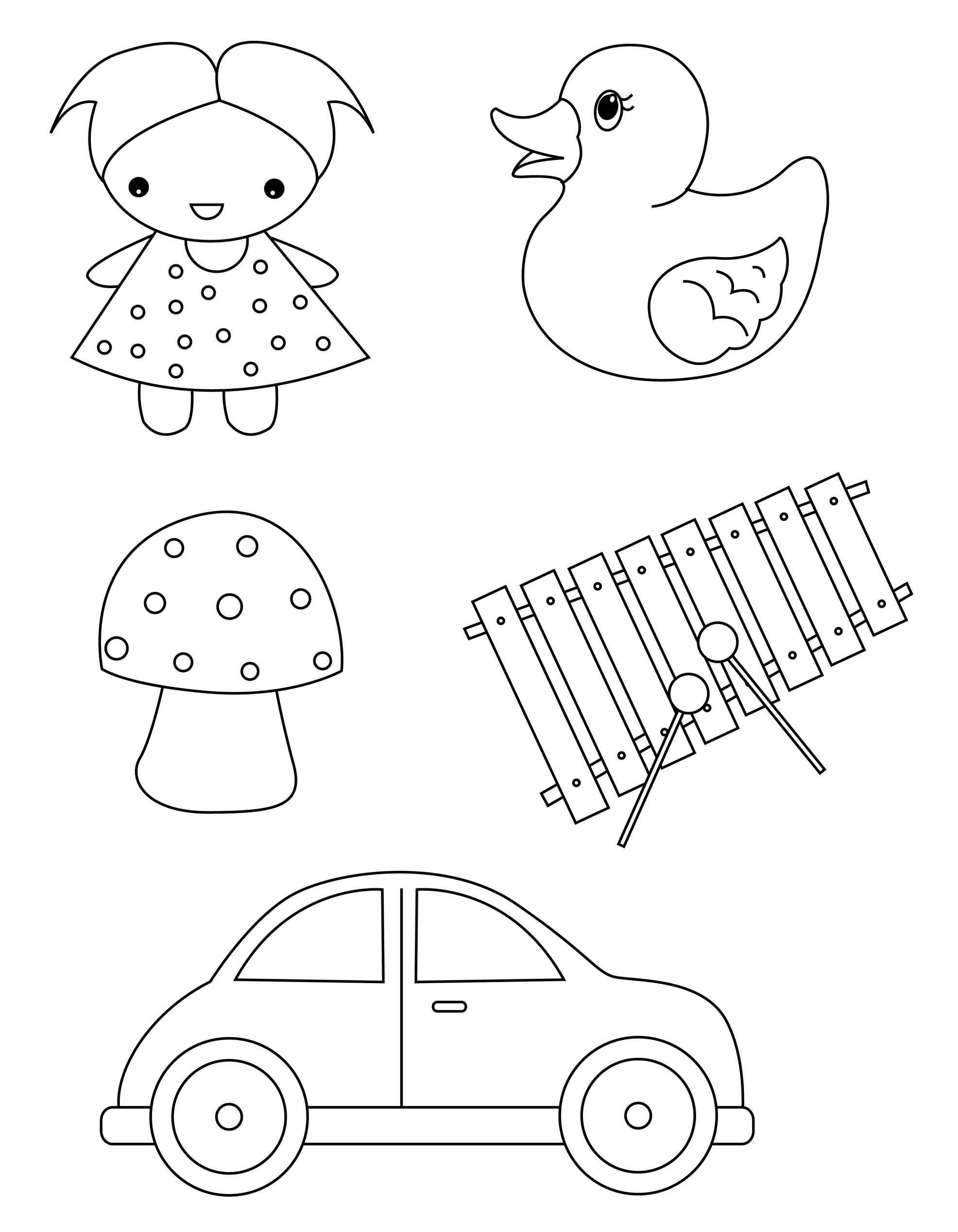 Planse De Colorat Jucarii Pentru Copii Sfatulparintilorro
