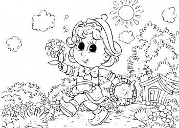 Planse Colorat Copii Archives Pagina 4 Din 5