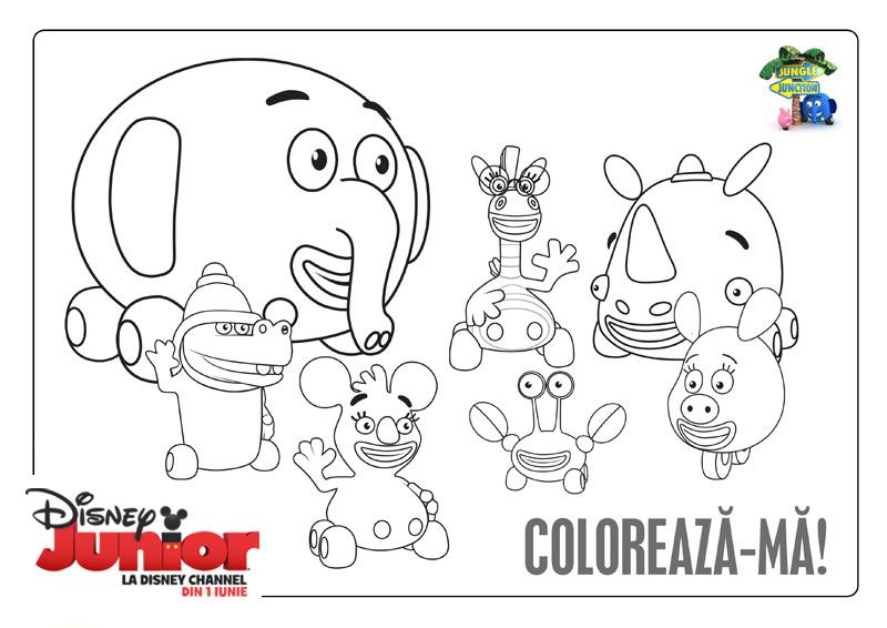 Cadou De Craciun Pentru Copii Planse De Colorat De La