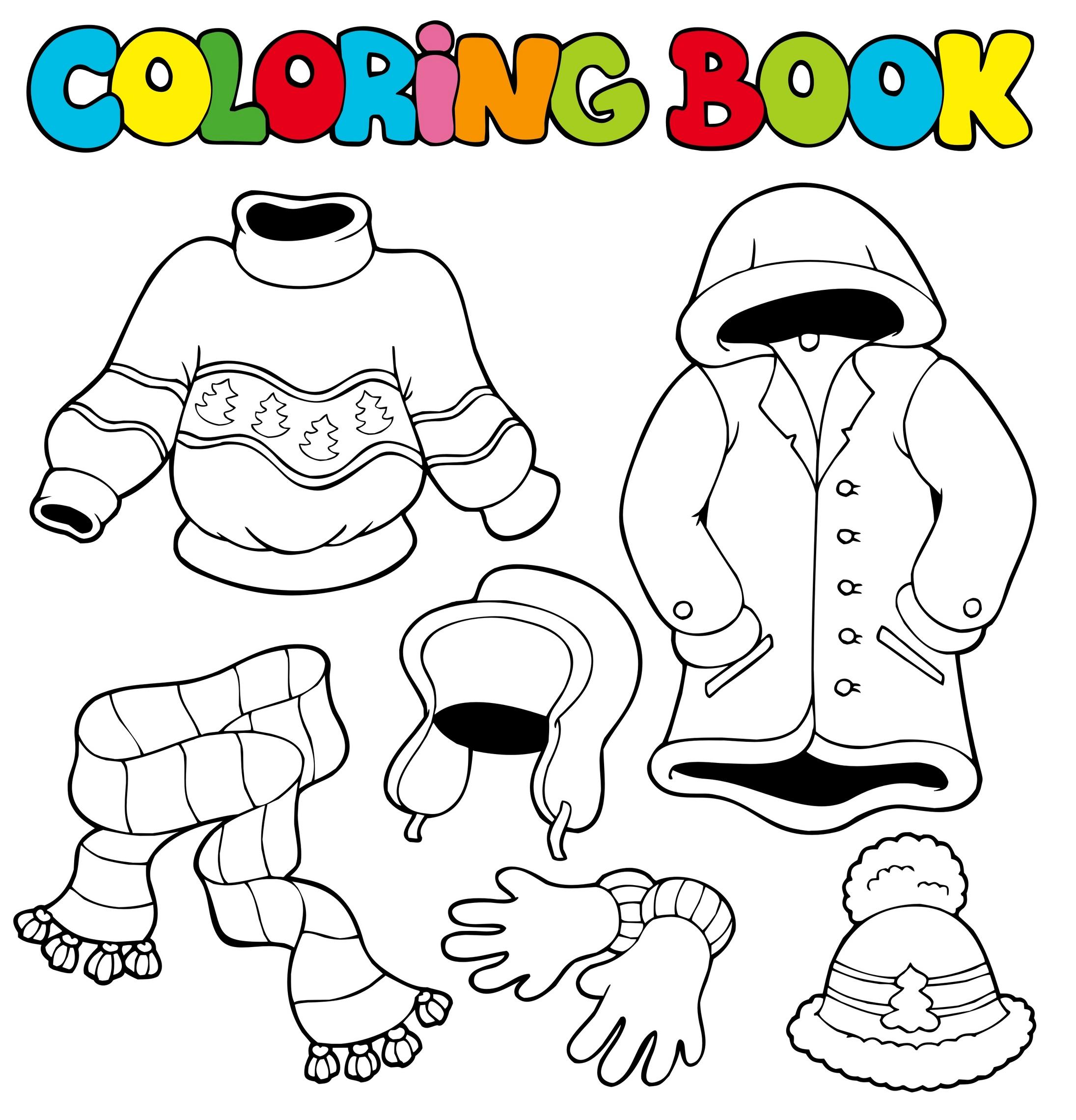 Planse Colorat Copii Iarna Idea Gallery
