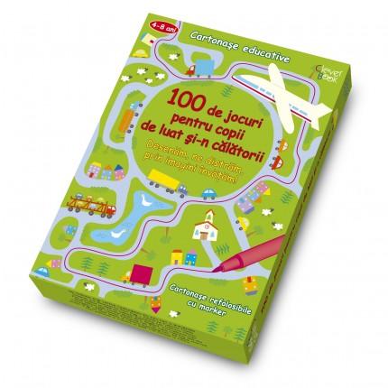 100 de jocuri pentru copii de luat si-n calatorii