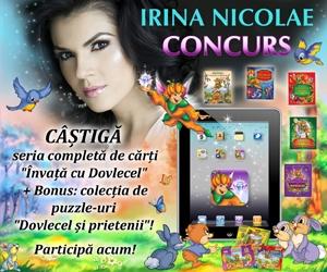 sfatulparintilor.ro - concurs NOU - Irina Nicolae In tara lui Dovlecel