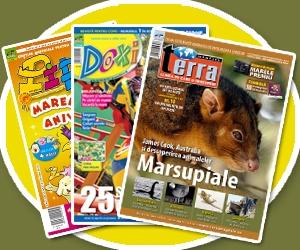 sfatulparintilor.ro - Reviste luna iunie Pipo, Doxi, Terra Magazin