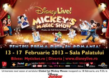 "sfatulparintilor.ro-Concurs NOU: Castiga invitatii la ""Disney Live! – Mickey's Magic Show""! Afla cum"
