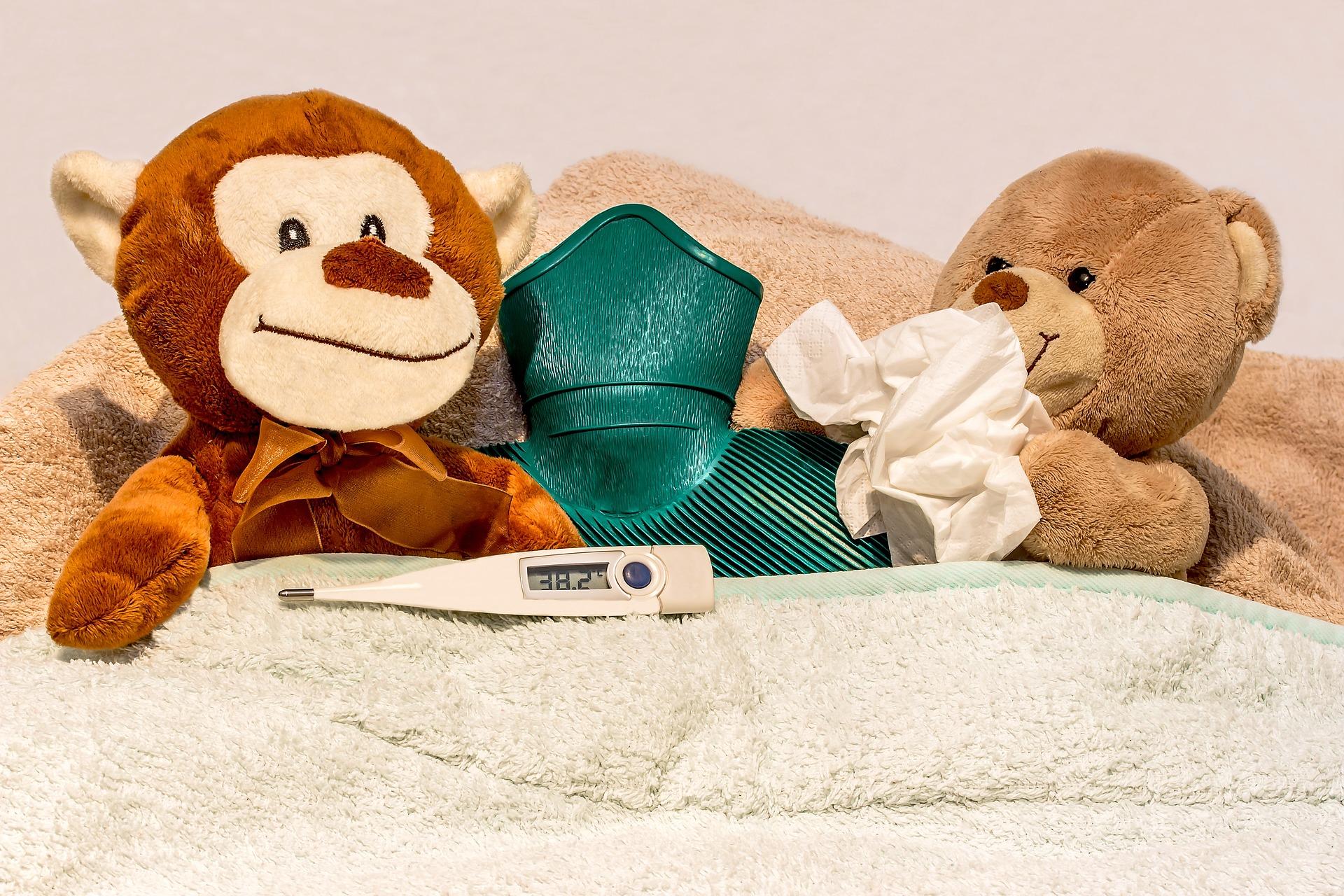 Cum tratezi febra la copii - sfatulparintilor.ro - pixabay_com - cold-1947995_1920
