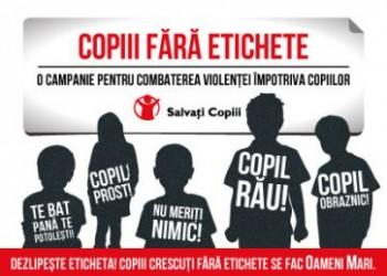 etichete copii - salvati copiii