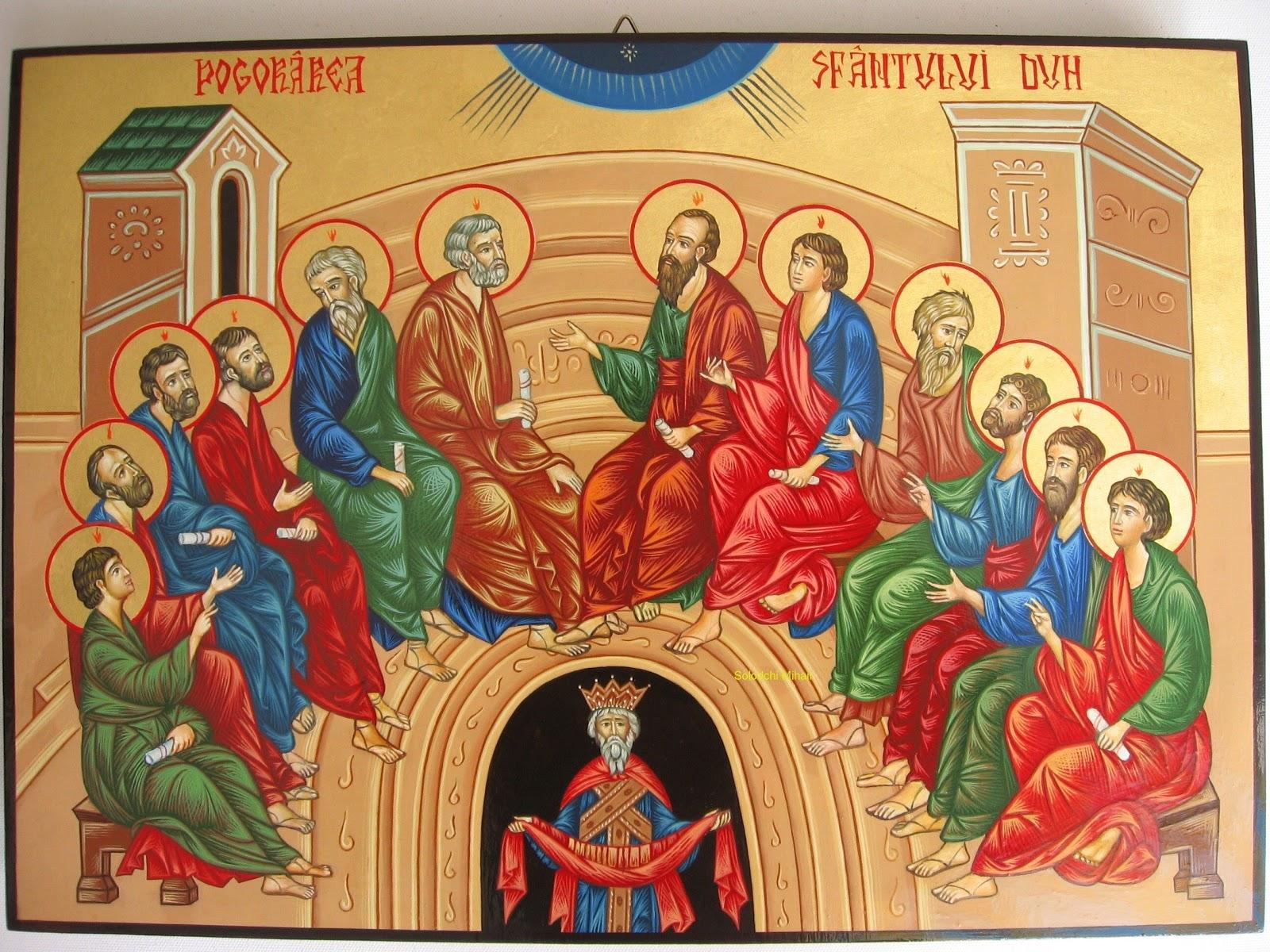 Duminica Mare Pogorarea Sfantului Duh Traditii Si