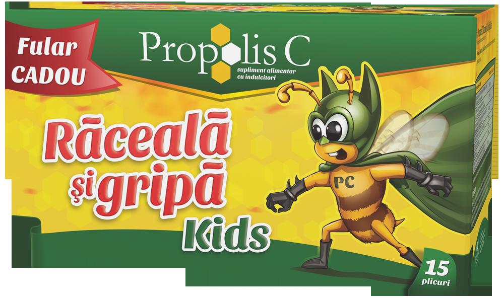 Propolis C Racela si gripa - fular cadou - Kids