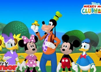 Planse de colorat, Disney Junior, Mickey Martianul