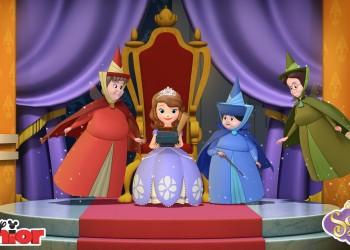 Planse de colorat, Disney Junior, Printesa Sofia