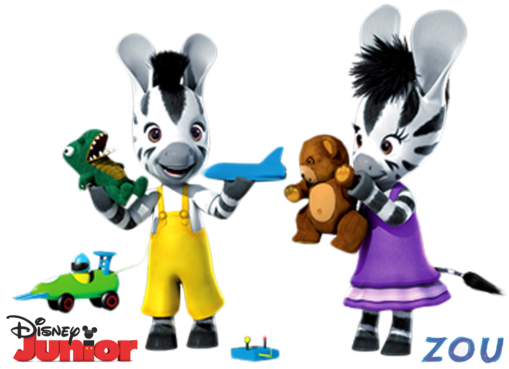 Planse de colorat, Disney Junior, Elzee