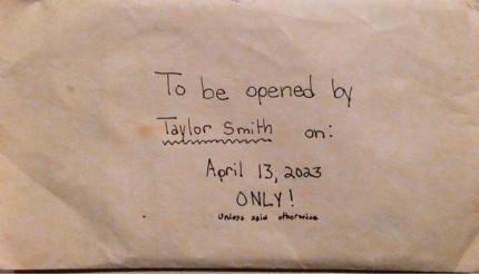 scrisoare taylor smith