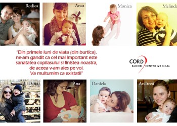 8 mamici Cord Blood Center